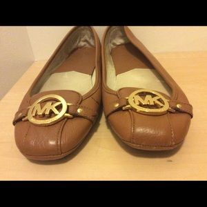Michael Kors Leather Flats size 9.5